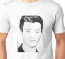 Chris Colfer drawing Unisex T-Shirt