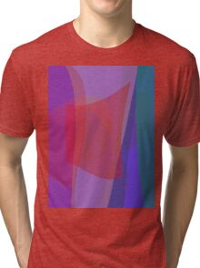 Red Square Time Warp Tri-blend T-Shirt