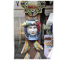 Ceramic Face Poster