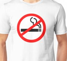 No Smoking Symbol Unisex T-Shirt