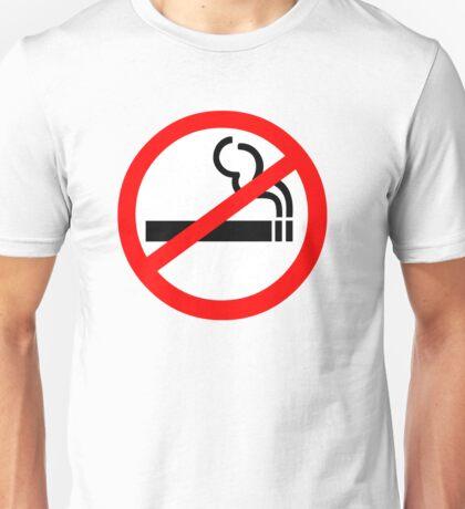 No Smoking Symbol Unisex T-Shirt