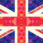 Great Britain Flag #2 by Orna Artzi