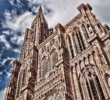 cathedrale strasbourg by Nello