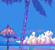 Pixel Paradise by catimatittycat