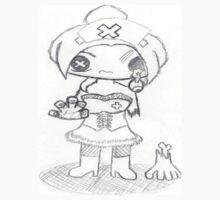 zombie nurse sketch by mysteriosupafan