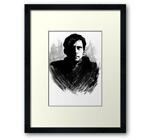DARK COMEDIANS: Steve Carell Framed Print