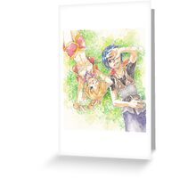 Chrono Cross: Serge and Kidd Greeting Card