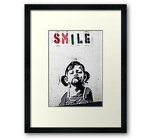 Banksy Poster. Framed Print