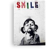 Banksy Poster. Canvas Print