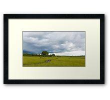 Landscape Masai Mara Framed Print