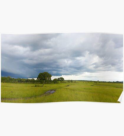 Landscape Masai Mara Poster