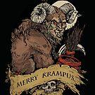 Merry Krampus  by WOLFSKULLJACK