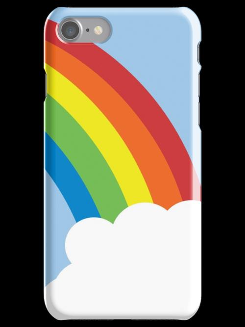 80's Retro Rainbow by Jessica Johansson