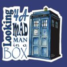 Looking 4A Mad Man In A Box -2 by RiverbyNight