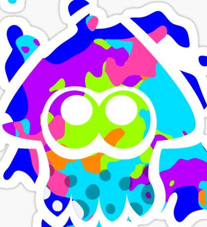 Splatoon Squid Sticker