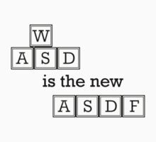 WASD is the new ASDF by NixonBen