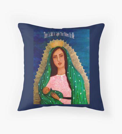 Cúbreme Con Tu Manto  Throw Pillow