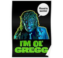 Old Gregg Poster