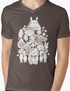 My neighborhood friends Mens V-Neck T-Shirt