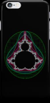 Coloured Linear Mandelbrot by Rupert  Russell