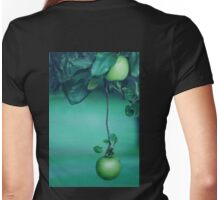 Little Green Apples Womens Fitted T-Shirt