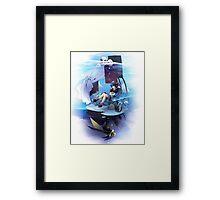 Chrono Cross: Serge and Lynx Framed Print