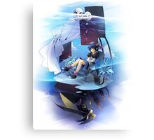 Chrono Cross: Serge and Lynx Canvas Print