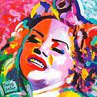 La Cholita Burlesque Queen  by Nancy Daleo