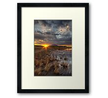 Elements of Sunset 2 Framed Print