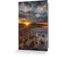 Elements of Sunset 2 Greeting Card