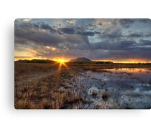 Elements of Sunset 1 Canvas Print