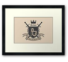 The Once and Future King Framed Print