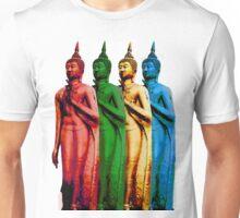 Colored Thai Buddha  Unisex T-Shirt