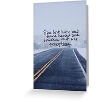 Taylor Swift Quote II Greeting Card
