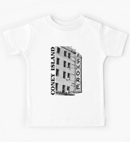 Coney Island Shore Theater Kids Tee