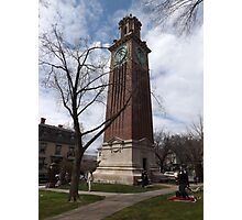 Carrie Tower, Brown University, Providence, Rhode Island Photographic Print