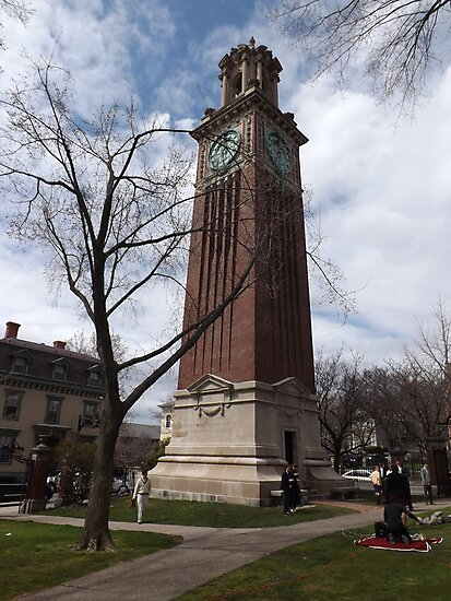 Carrie Tower, Brown University, Providence, Rhode Island by endomental Artistry