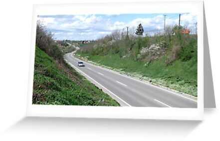 Road in Aprill by branko stanic