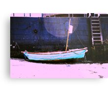 When the boat comes in... Metal Print