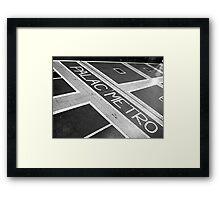 Palac Metro Framed Print