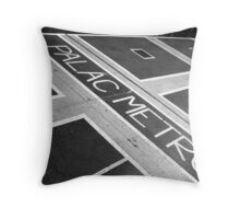 Palac Metro Throw Pillow
