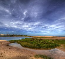 Sand Bar Beach  by manateevoyager