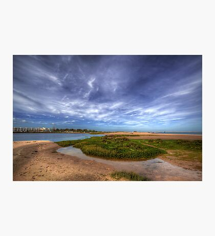 Sand Bar Beach  Photographic Print
