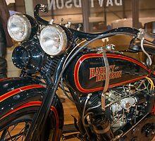 1929 Harley DL by Bill Spengler
