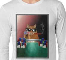 Cat Poker Long Sleeve T-Shirt