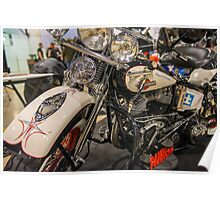 1960 Harley Panhead Poster