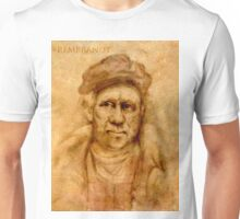 Rembrandt from his self portrait Unisex T-Shirt