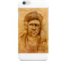 Rembrandt from his self portrait iPhone Case/Skin