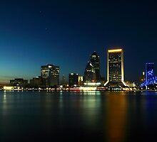 Jacksonville Skyline at Dusk by Dani Gee Phokus & [x]Pose