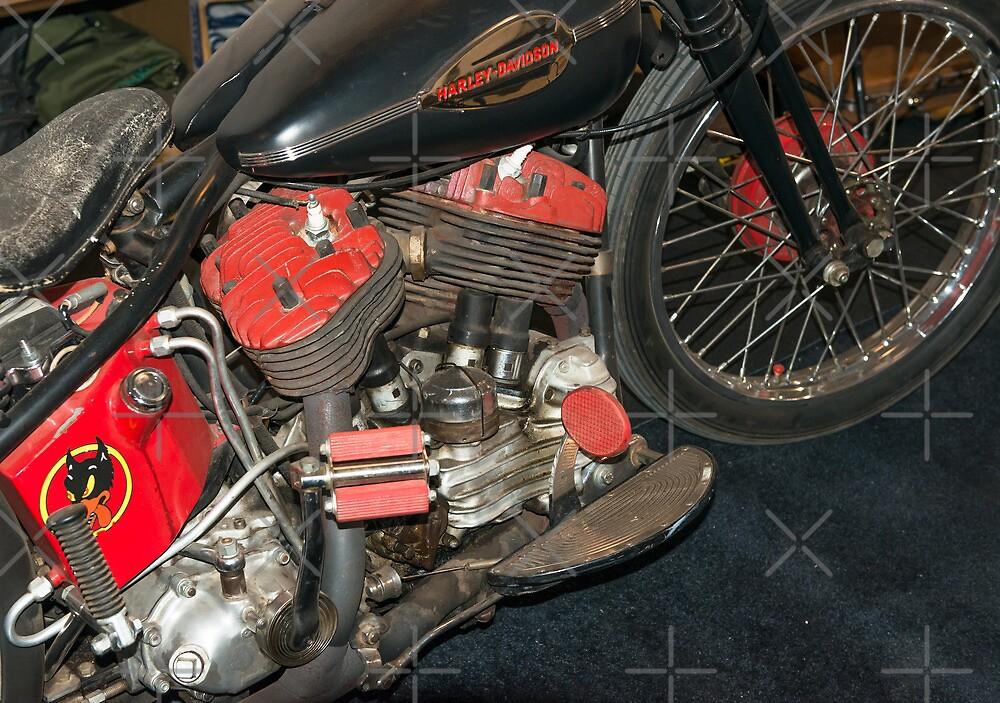 Old Harley Davidson by Bill Spengler